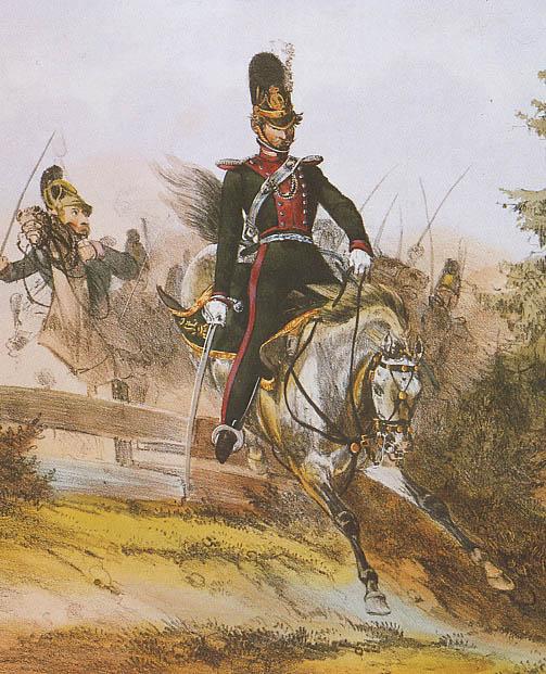 Chevaulegers Leutnant