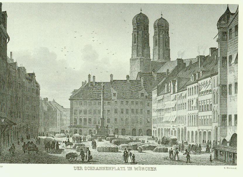 Der Schrannenplatz in München