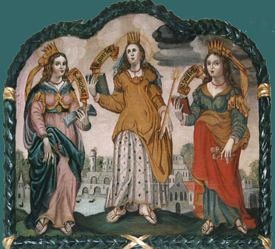 Die heiligen drei Bethen